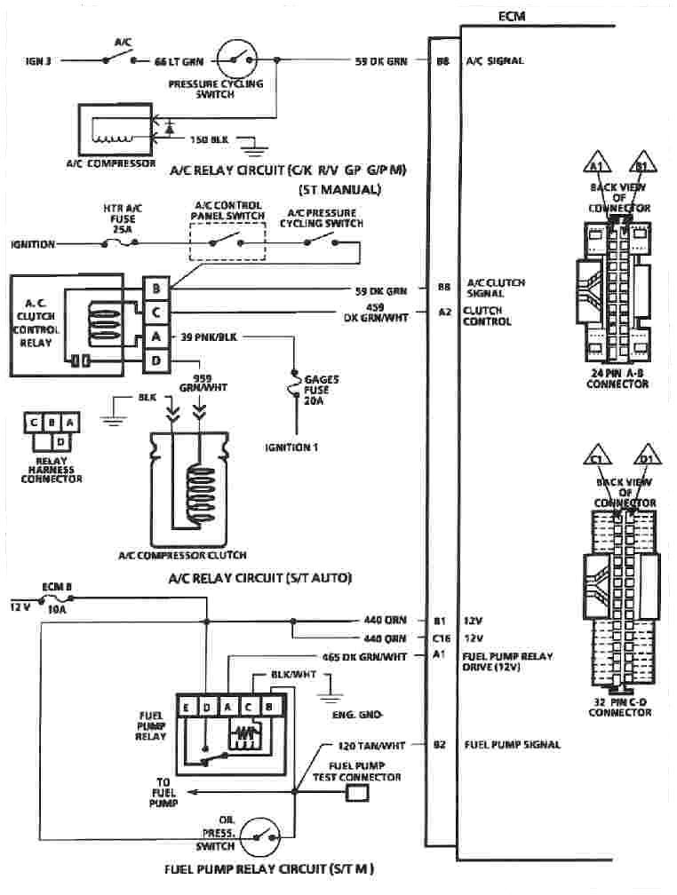 Ecm on 1996 Lincoln Town Car Wiring Diagram