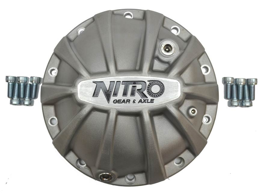 Nitro Xtreme Diff Covers for Semi Float Landcruiser!