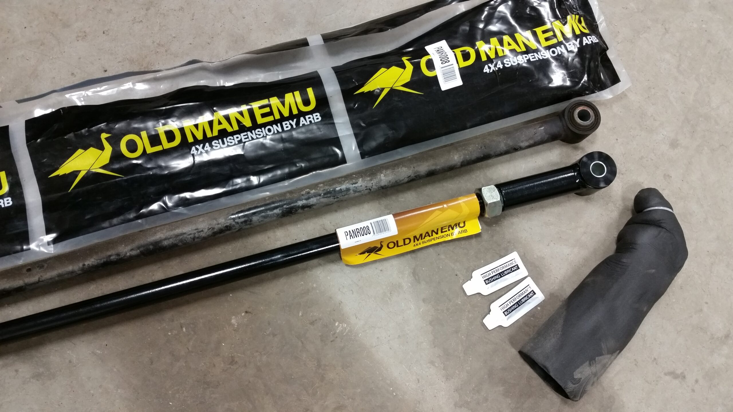 Old Man Emu Adjustable Panhards and Trailing Arms