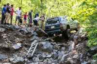 Jeremy from Crux Offroad demonstrates his unique ladders to get his 4th gen 4runner up Pinion Falls.